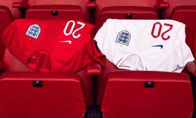England 2018 World Cup Nike Home and Away Football Kit, Soccer Jersey, Shirt, 2019 Camiseta de Futbol, Maillot, Trikot
