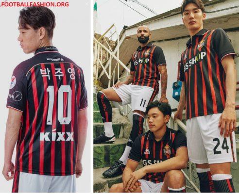 FC Seoul le coq sportif 2018 Home Football Kit, Soccer Jersey, Shirt