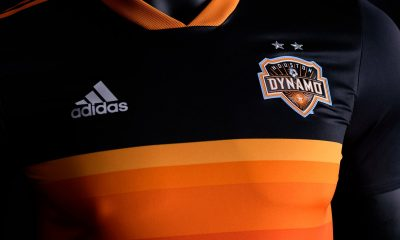 Houston Dynamo 2018 2019 adidas Away Soccer Jersey, Shirt, Football Kit, Camiseta de Futbol MLS