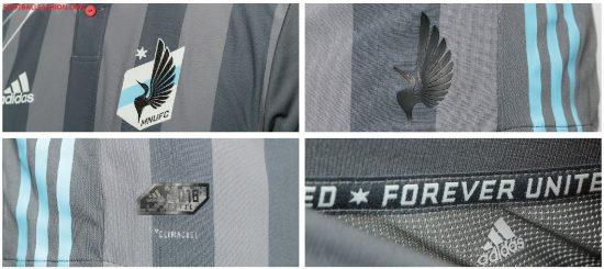 Minnesota United 2018 adidas Home Soccer Jersey, Football Kit, Shirt, Camiseta de Futbol MLS