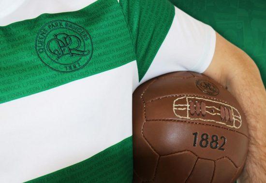 Queens Park Rangers Loftus Road 100th Anniversary Errea Football Kit, Soccer Jersey, Shirt