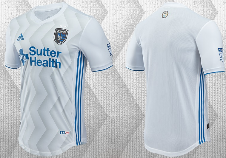 7c60f808006 San Jose Earthquakes 2017 adidas Away Jersey - FOOTBALL FASHION.ORG