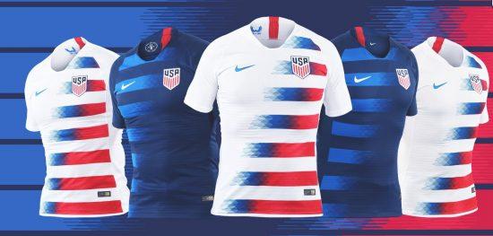 USA 2018 2019 Nike Soccer Jersey, Football Kit, Shirt, Camiseta de Futbol, Equipacion