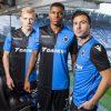 Club Brugge 2018 Playoff Macron Football Shirt, Soccer Jersey, Kit, Tenue, Maillot