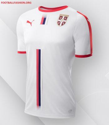 Serbia 2018 World Cup PUMA Away Football Kit, Soccer Jersey, Shirt, Dres, Srbije
