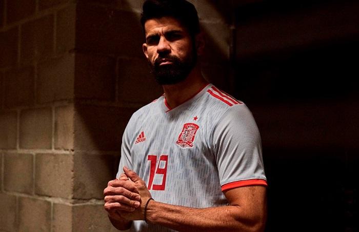 f671983f096 Spain 2018 World Cup adidas Away Kit - FOOTBALL FASHION.ORG