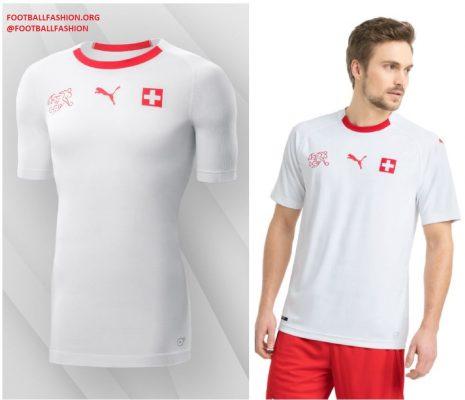 Switzerland 2018 FIFA World Cup PUMA Away Football Kit, Soccer Jersey, Shirt, Maillot, Trikot, Maglia, Gara
