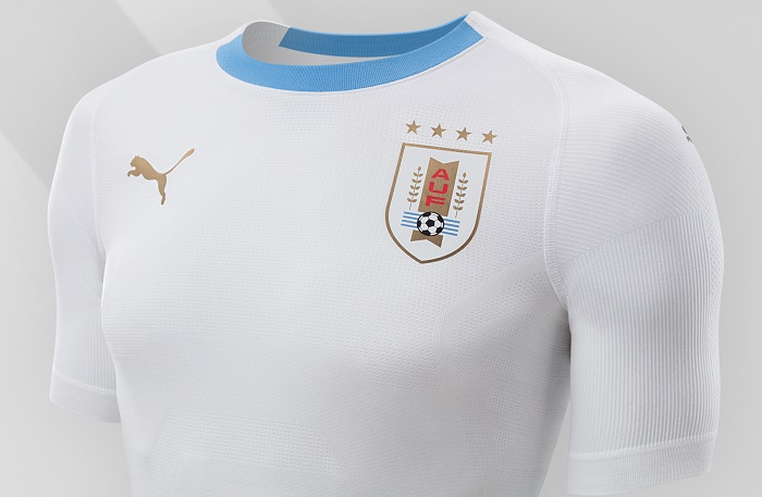 Uruguay 2018 World Cup PUMA Away Kit – FOOTBALL FASHION.ORG b9be40227