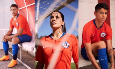 Chile 2018 2019 Nike Home and Away Football Kit, Soccer Jersey, Shirt, Camiseta de Futbol, Equipacion