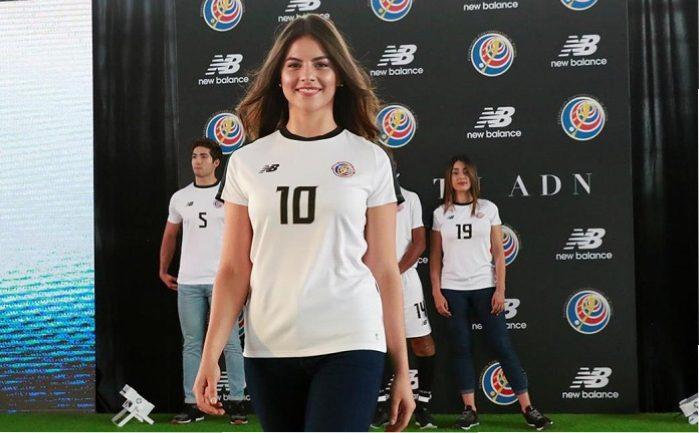 low priced 57b8d c2e32 Costa Rica 2018 World Cup New Balance Away Jersey - FOOTBALL ...