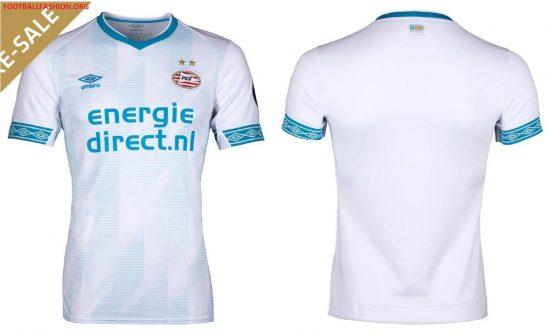PSV Eindhoven 2018 2019 Umbro Away Football Kit, Soccer Jersey, Shirt, Uitshirt, Tenue