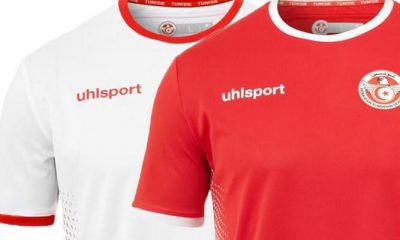 Tunisia 2018 World Cup uhlsport Home and Away Football Kit, Soccer Jersey, Shirt, Maillot