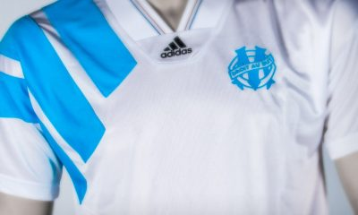 Reissue: Olympique Marseille 1993 Champions League Winner's adidas Football Kit, Soccer Jersey, Shirt, Maillot