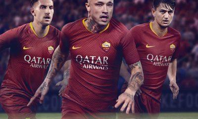 AS Roma 2018 2019 Nike Home Football Kit, Soccer Jersey, Shirt, Gara, Maglia, Camisa, Camiseta