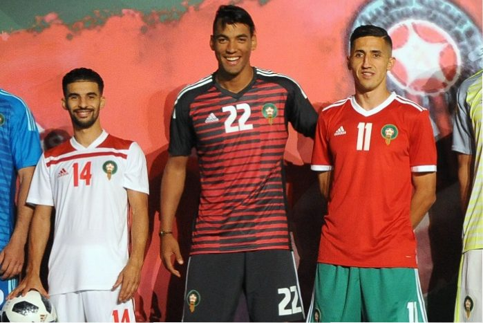 90cec02a2c1 Morocco 2018 World Cup adidas Home and Away Kits - FOOTBALL FASHION.ORG