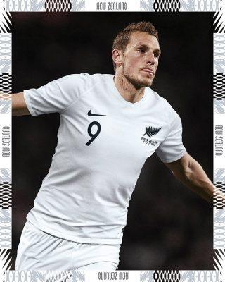 New Zealand 2018 2019 Nike Home and Away Football Kit, Soccer Jersey, Shirt