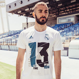Real Madrid 2018 UEFA Champions League Winners Shirt, Soccer Jersey, Football Kit, Maillot, Trikot, Camisa