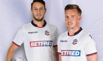 Bolton Wanderers 2018 2019 Macron Home Football Kit, Soccer Jersey, Shirt