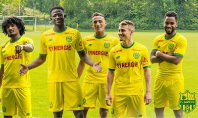 FC Nantes 2018 2019 New Balance Home and Away Football Kit, Soccer Jersey, Shirt, Maillot