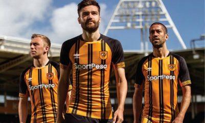 Hull City 2018 2019 Umbro Home Football Kit, Soccer Jersey, Shirt