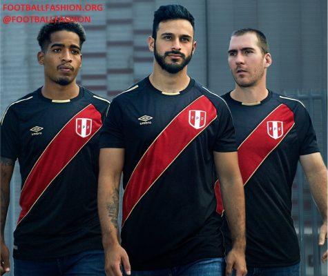 Peru 2018 FIFA World Cup Umbro Limited Edition Soccer Jersey, Football Shirt, Shirt, Camiseta de Futbol Copa Mundial Rusia, Equipacion, Edicion Limitada