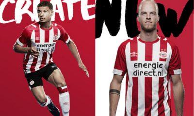 PSV Eindhoven 2018 2019 Umbro Home Football Kit, Soccer Jersey, Shirt, Thuisshirt, Tenue