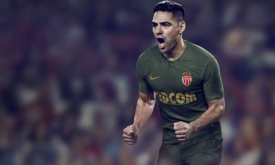 AS Monaco 2018 2019 Nike Away Football Kit, Soccer Jersey, Shirt, Maillot, Camiseta, Trikot, Camisa