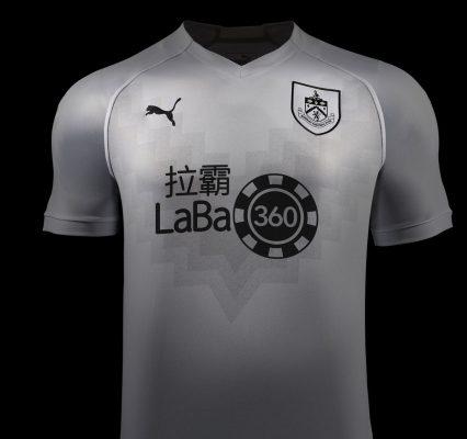 Burnley FC 2018 2019 PUMA Third Football Kit, Soccer Jersey, Shirt