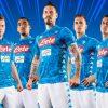 SSC Napoli 2018 2019 Kappa Home Football Kit, Soccer Jersey, Shirt, Maglia, Gara, Camiseta, Camisa