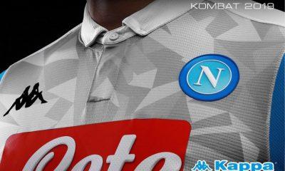 SSC Napoli 2018 2019 Kappa Third Football Kit, Soccer Jersey, Shirt, Maglia, Gara, Camiseta, Camisa