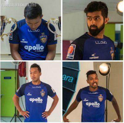 Chennaiyin FC 2018 2019 Home Football Kit, Soccer Jersey, Shirt
