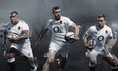 England Rugby 2018 2019 Canterbury Home Kit, Jersey, Shirt