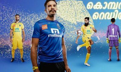 Kerala Blasters 2018 2019 Home Football Kit, Soccer Jersey, Shirt
