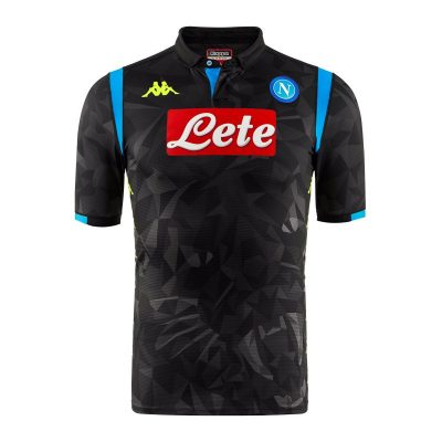 SSC Napoli 2018 2019 Kappa European Football Kit, Soccer Jersey, Shirt, Maglia, Gara, Europa, UEFA Champions League