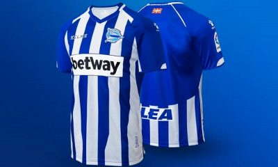 Deportivo Alavés 2018 2019 Kelme Home, Away and Third Football Kit, Soccer Jersey, Shirt, Camiseta de Futbol, Equipacion