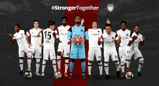 NorthEast United FC 2018 2019 Home, Away and Third Football Kit, Soccer Jersey, Shirt
