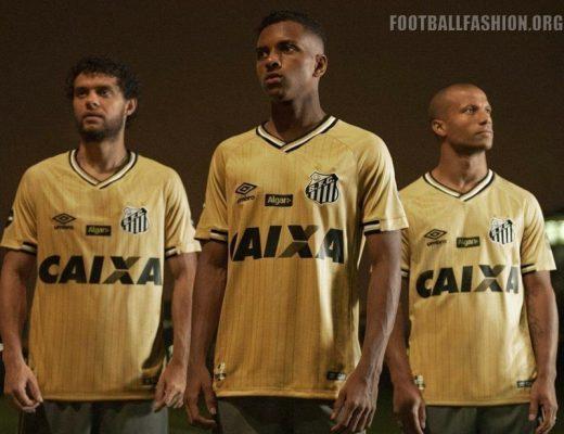 Santos FC 2018 2019 Umbro Third Football Kit, Soccer Jersey, Shirt, Camsa III