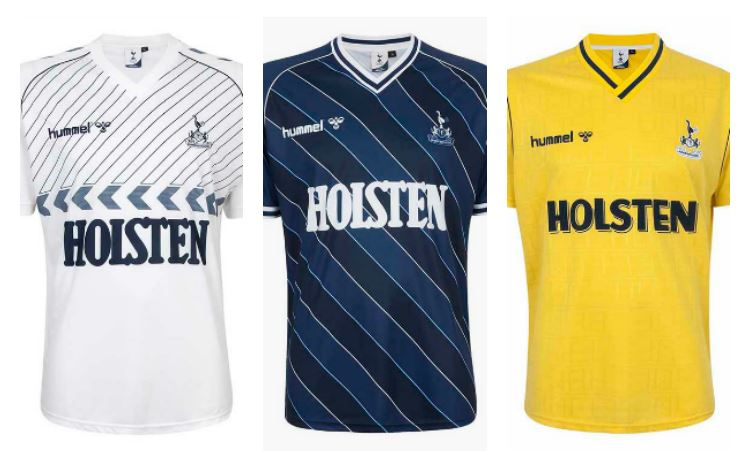 the latest 4800f aaed7 Tottenham Hotspur Reissue Late 1980s hummel Kits - FOOTBALL ...