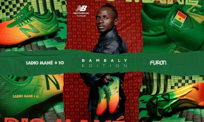 Sadio Mané and New Balance Football Reveal Senegal Inspired Boots