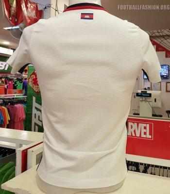 Cambodia 2018 2019 FBT Away Football Kit, Soccer Jersey, Shirt