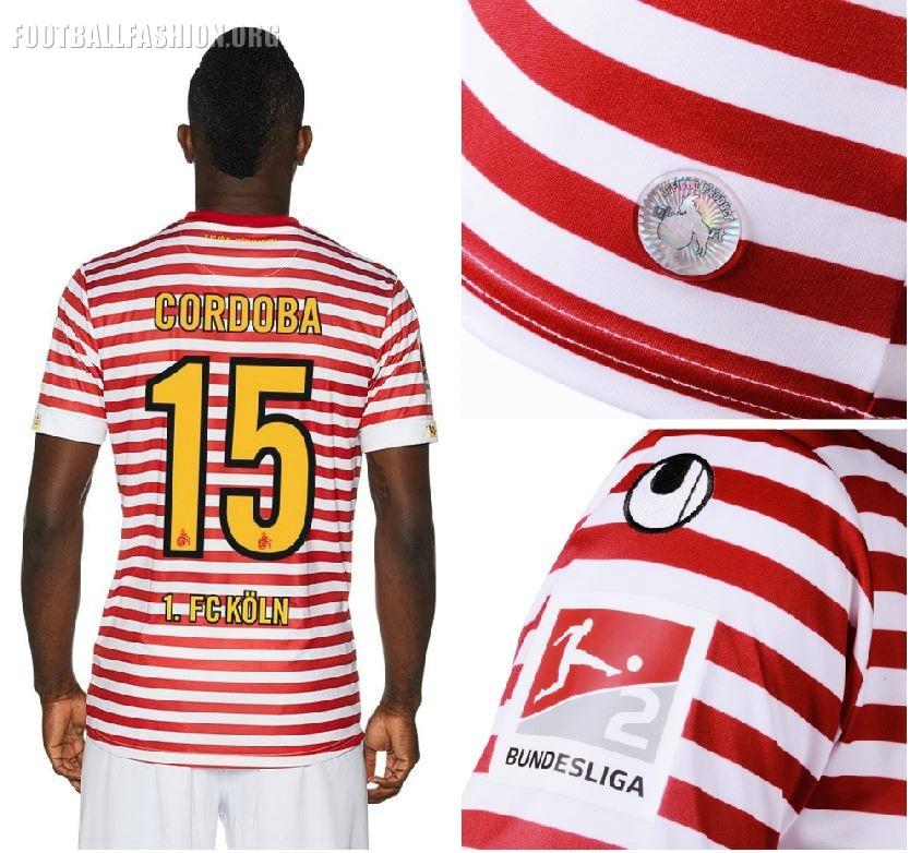 1. FC Köln 2018 2019 uhlsport Karneval Football Kit, Soccer Jersey, Trikot