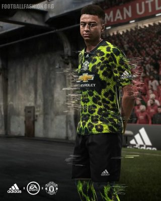 Manchester United 2018 2019 adidas Digital Fourth Football Kit, Soccer Jersey, Shirt - available in EA Sports FIFA 19 FIFA Ultimate Team (FUT)