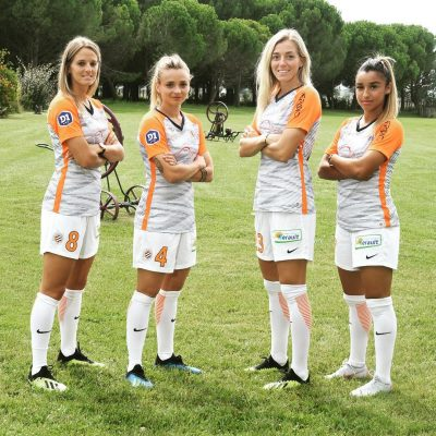 Montpellier HSC 2018 2019 Nike Home, Away, Rose, Pink Soccer Jersey, Shirt, Football Kit, Maillot