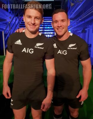 New Zealand All Blacks 2019 adidas Home and Away Rugby Jersey, Kit, Shirt