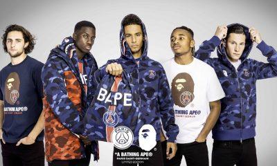 Paris Saint-Germain x BAPE Drop First Ever Collaboration 2018 2019 AW SS