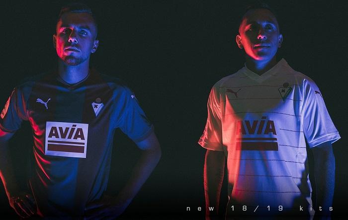 SD Eibar 2018/19 PUMA Home, Away and Third Kits - FOOTBALL FASHION
