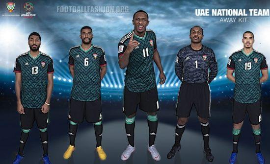 United Arab Emirates 2019 AFC Asian Cup adidas Football Kit, Soccer Jersey, Shirt