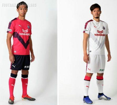 Cerezo Osaka 2019 PUMA Home and Away Football Kit, Soccer Jersey, Shirt