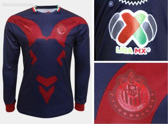 Chivas de Guadalajara 2018 2910 PUMA Third Soccer Jersey, Shirt, Football Kit, Camiseta de Futbol, Equipacion Tercero