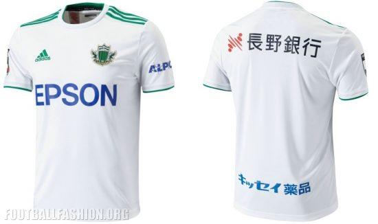 Matsumoto Yamaga 2019 adidas Home and Away Football Kit, Soccer Jersey, Shirt